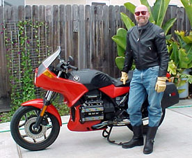 Doug and his BMW K75s
